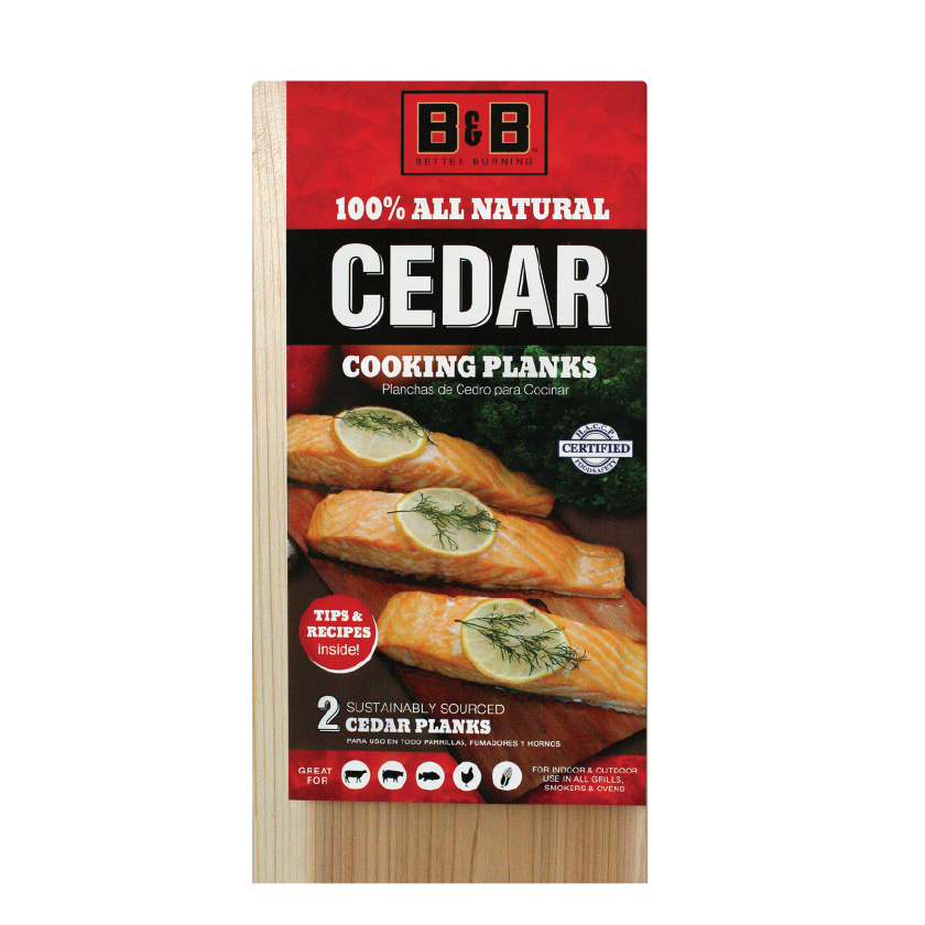 B&B Cedar Cooking Planks