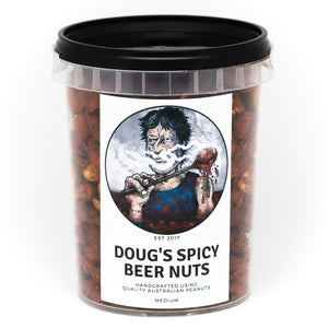 "Dirty Dougs ""Spicy Beer Nuts"" 300g"
