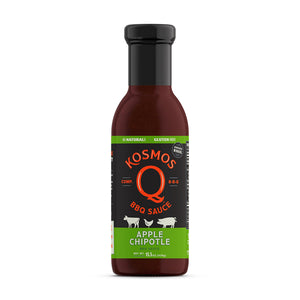 KOSMOS SWEET APPLE CHIPOTLE BBQ SAUCE 15.5OZ