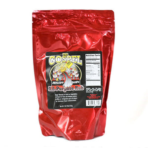 "Meat Church ""The Gospel"" All Purpose Rub  (453g Bag))"