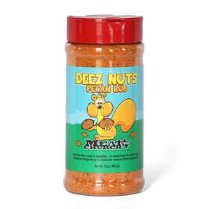 "Meat Church ""Deez Nuts"" Honey Pecan Rub 12oz"
