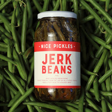 "Nice Pickles ""Jerk Beans"" Jar"