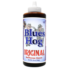 "Load image into Gallery viewer, Blues Hog ""Original"" BBQ Sauce - 709g Squeeze Bottle"