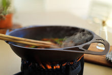 AUS-ION™ 'Satin' 30cm Wrought Iron Dual-handled Wok