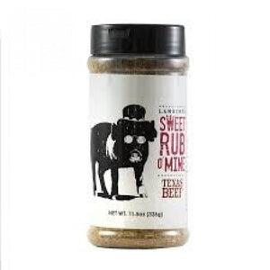 "Lambert's ""Sweet Rub O Mine Texas Beef"" Rub Shaker 12oz"