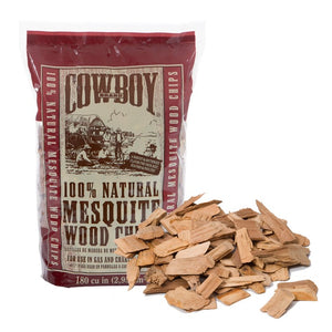 Cowboy Mesquite Wood Chips 750g