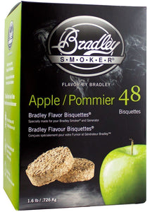 "Bradley Smoker Bisquettes - ""Apple"" 24 pack"