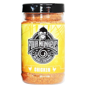 "Four Monkeys ""Chicken"" Rub Shaker"