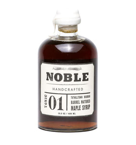 Noble Tonic 01 Bourbon Matured Maple Syrup 450ml
