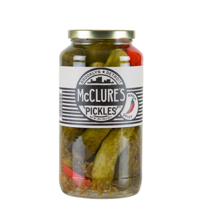 McClures Spicy Whole Pickles