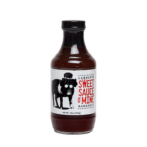 "Lambert's ""Sweet Sauce O' Mine Original BBQ"" Sauce 530ml"