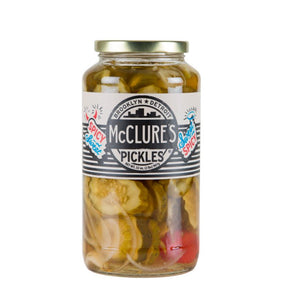 McCLures Sweet & Spicy Crinkle Cut Pickles