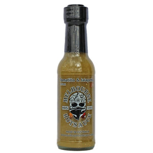 "Melbourne Hot Sauce ""Tomatillo & Jalapeno"" 150ml"