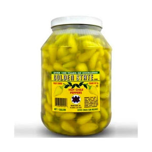 Golden State Hot Yellow Chilli Peppers 3.8L
