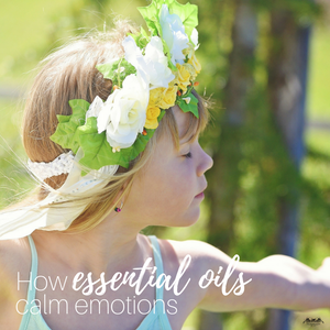 How essential oils calm emotions
