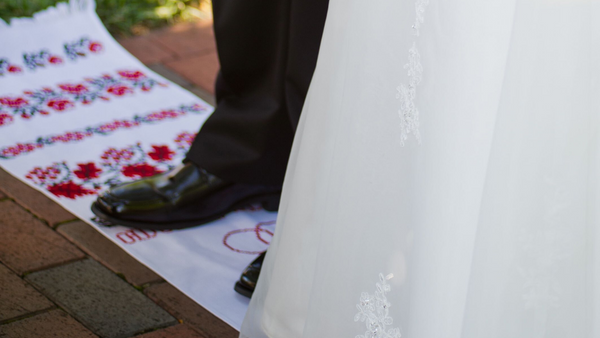 wedding blanket tradition by The Flying lamb