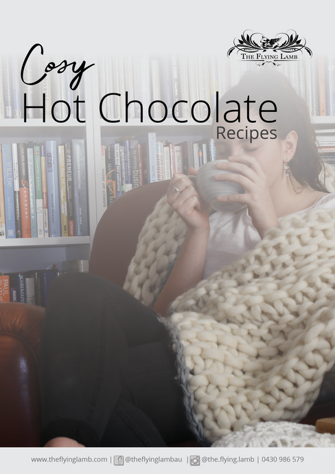 Hot Chocolate Recipe from Grounded Pleasures