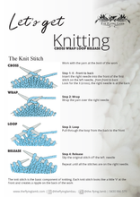 Learn to Knit Private Group Workshop: 1/2 day (max 12 people)