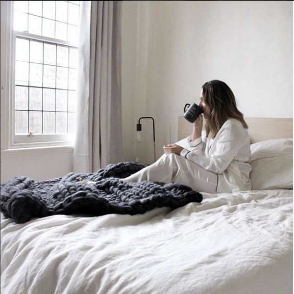 Everyday Luxury | Hygge Life | Chunky Knit | Morning Coffee