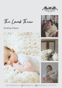 The Flying Lamb Knitting Pattern Book