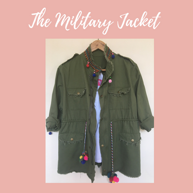 The Military Jacket: Opposites do Attract!