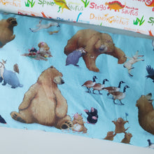 ABC Dinos & Happy Bears Beansprout Husk Pillows