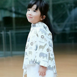 Wildlife Children's Poncho (Cotton blend)