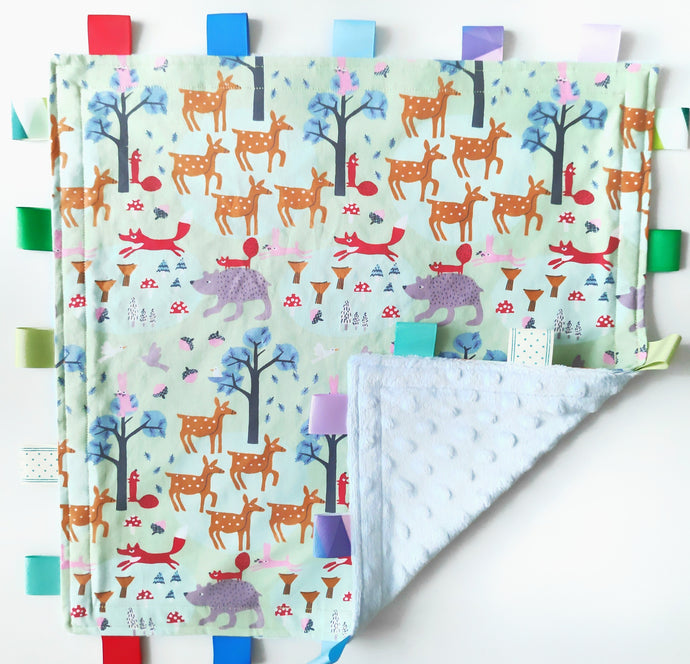 Rainforest Tag Blankie