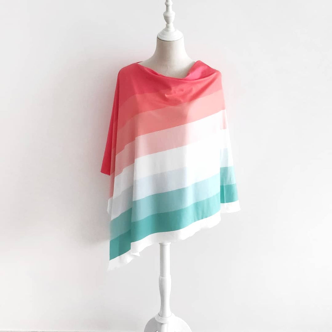 Eco Series Ombre Nursing Poncho