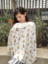 Cats Nursing Poncho