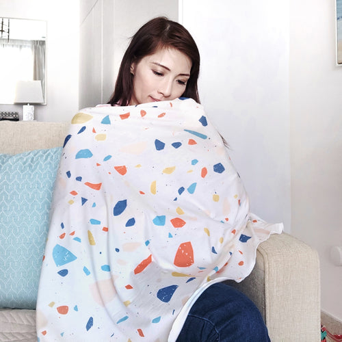 (Re-stocked)Eco Series Reverie1 Nursing Poncho