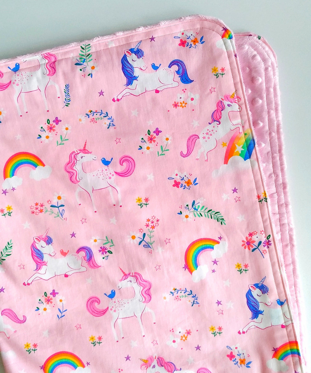 Unicorn Cloud Blanket