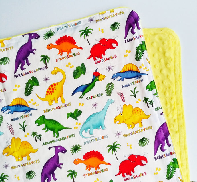 ABC Dinos Cloud Blanket