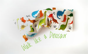 Dino White Beansprout Husk Pillow