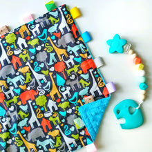 Joy Clip-on Teether +  Zoo Tag Blankie Gift Set