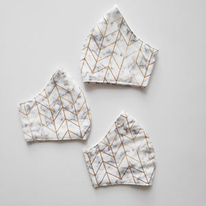 Geometric Marble Face Mask (from$14)