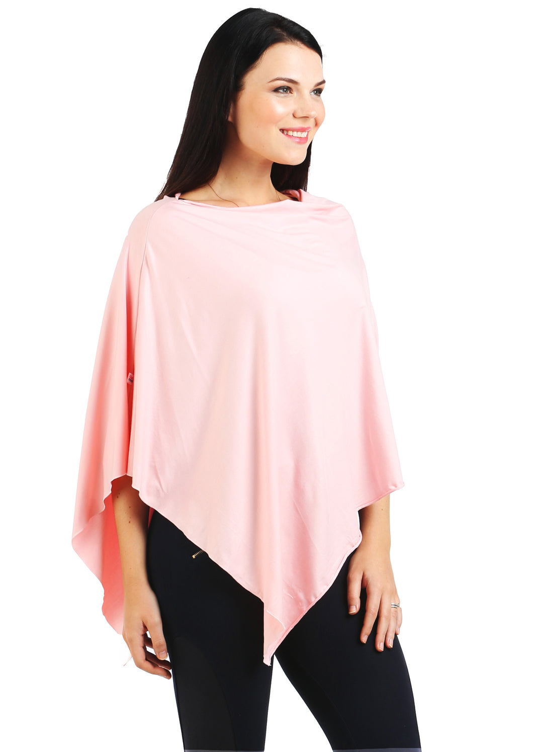 Blush Pink Nursing Poncho