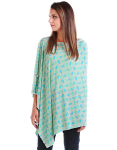 Falling Leaves Nursing Poncho