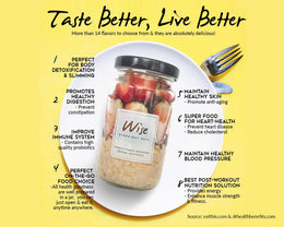 Health benefits of taking Wise's Overnight Oat