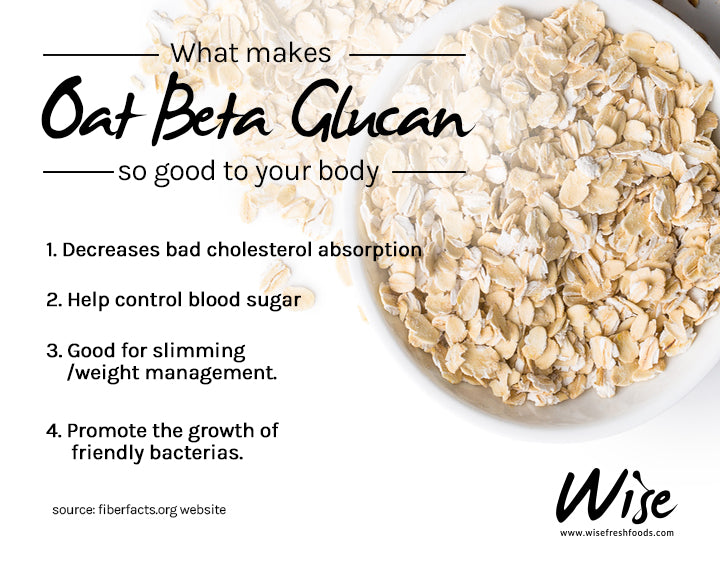 What makes oat Beta-glucan so good to your body