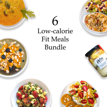 6 Low-calorie Fit Meals Bundle