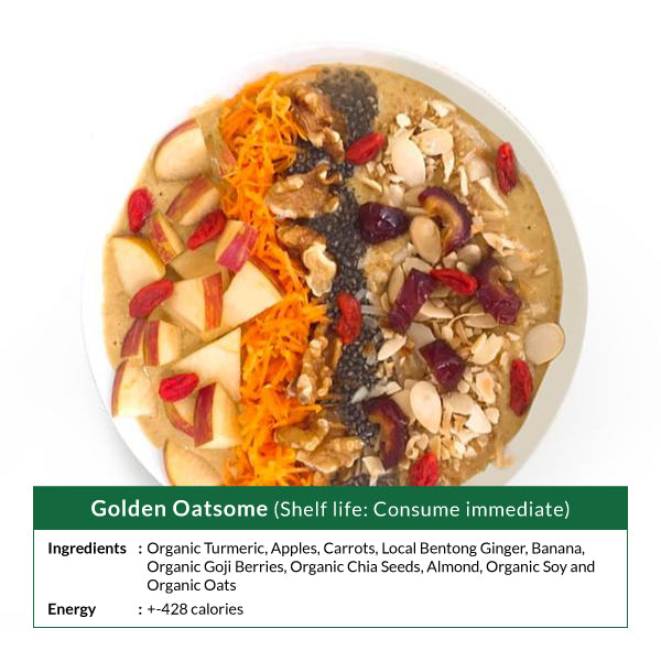 Golden Oatsome Smoothie Bowl