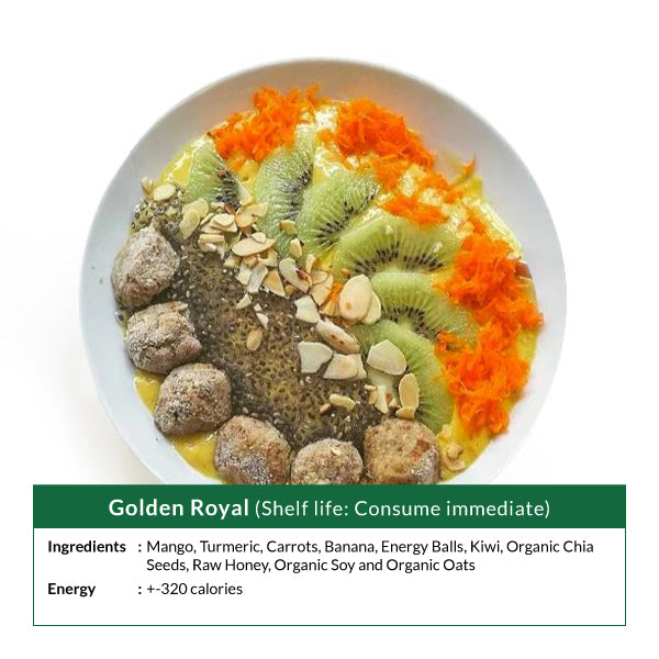 Golden Royal Smoothie Bowl