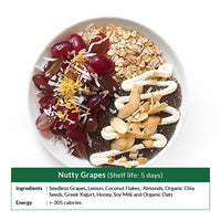 Nutty Grapes (Shelf life: 5 days)