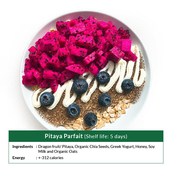 Pitaya Parfait (Shelf life: 5 days)