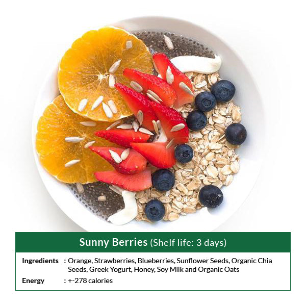 Sunny Berries (Shelf life: 3 days)