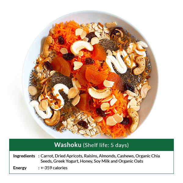 Washoku (Shelf life: 5 days)