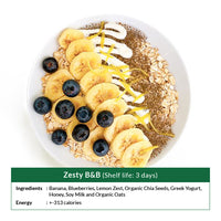 Zesty B&B (Shelf life: 3 days)