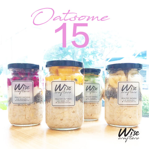Oatsome 15 Meal Plan (oatmeals only )