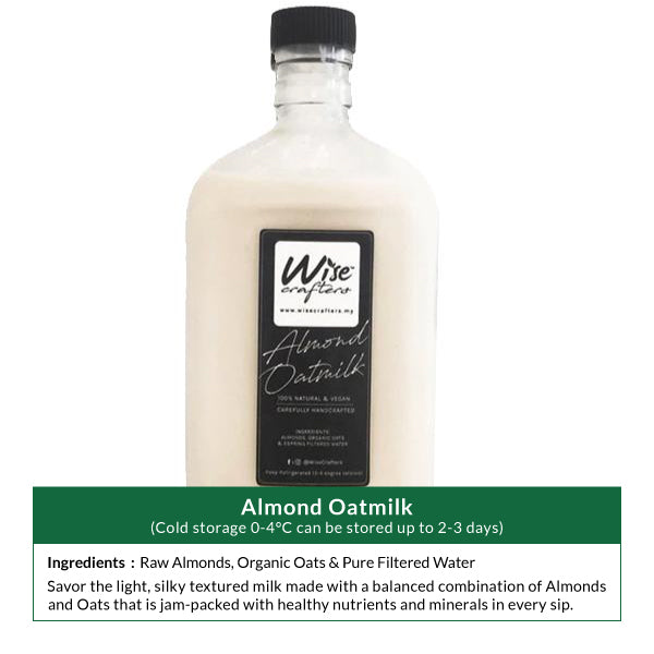 Almond Oatmilk